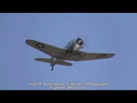 SkyFair - SBD Dauntless, A6M Zero, FM-2 Wildcat