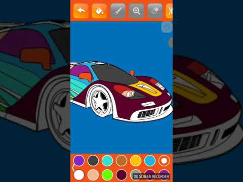 Super Car Colouring Games - Cars Coloring Book - Apps on Google ...