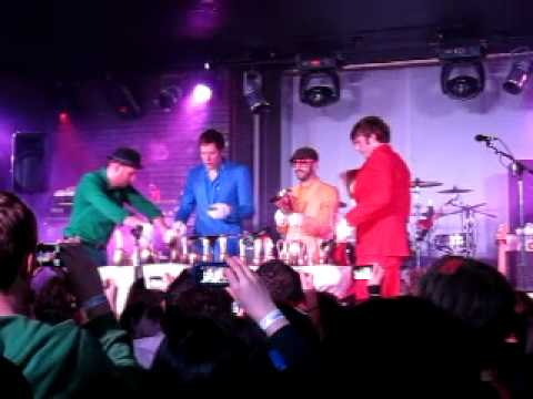 OK Go - Return - the hand bells -  Avalon Santa Clara