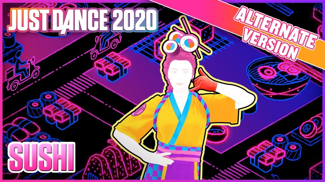 2020 Dance Trends.Just Dance 2020 Sushi Alternate Official Track Gameplay Us