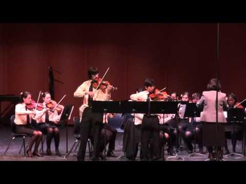 El Paso High School Orchestra: Violin Concerto in E minor, Op. 64 Felix Mendelssohn