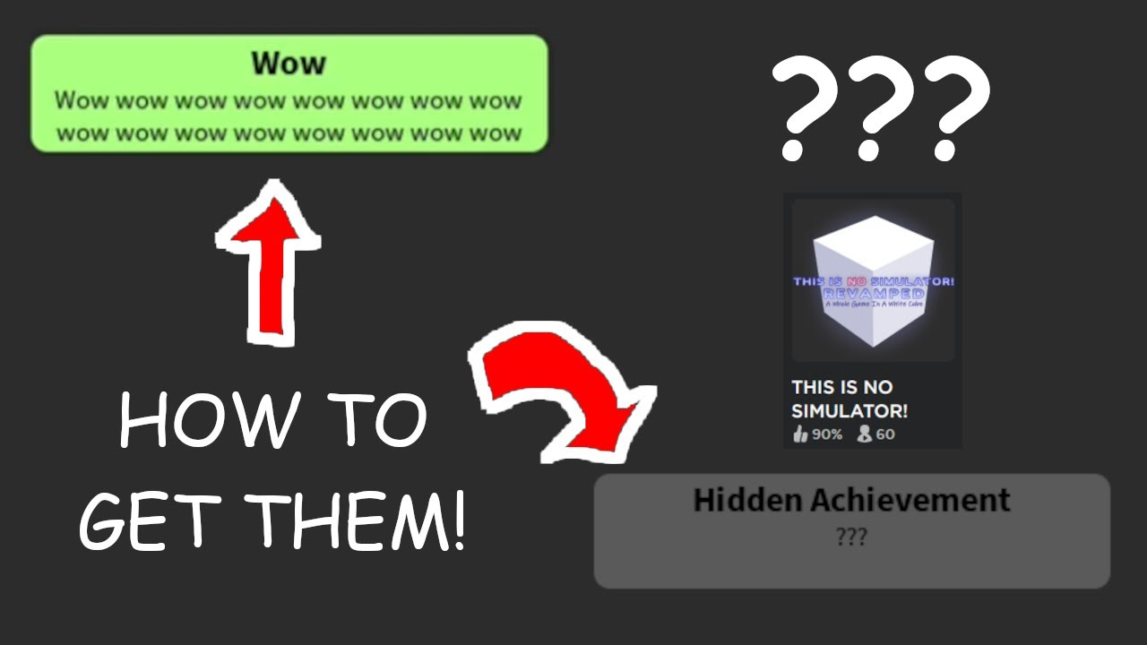 How to Get WOW and ALL 4 Hidden Achievements in THIS IS NO SIMULATOR