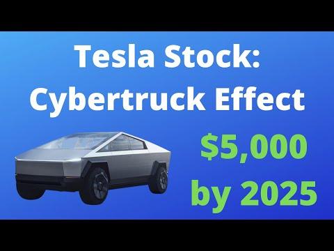 Tesla's Cybertruck Will Lift TSLA Stock to $5,000 by 2025