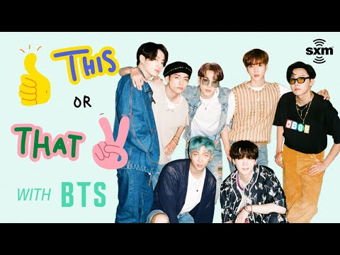 BTS Plays 'This or That'