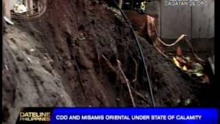 Misamis Oriental, CDO under state of calamity