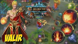 Video NEW HERO VALIR | Awesome Skills & Gameplay First Look! Mobile Legends download MP3, 3GP, MP4, WEBM, AVI, FLV Juli 2018
