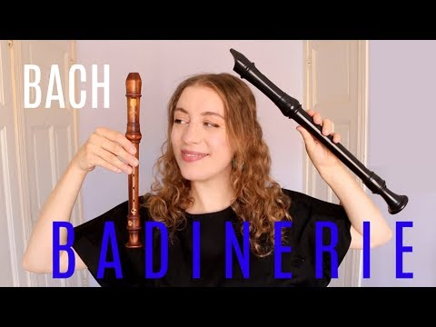 BADINERIE by Bach: How to play | Team Recorder