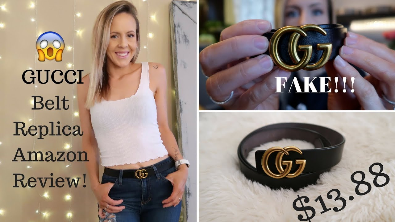 4428ae27a7 Review of the Amazon Gucci Belt Replica! - YouTube