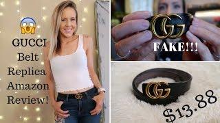 Review of the Amazon Gucci Belt Replica!