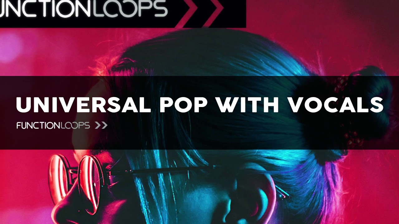 Pop Vocal Samples - UNIVERSAL POP WITH VOCALS - Acapellas, Female Vocal  Samples, Song Kits, Stems