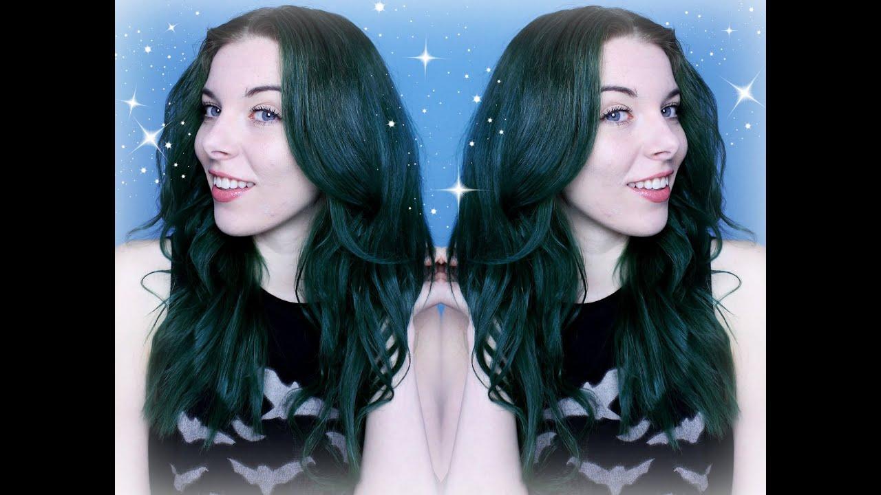 Haare grun farben ohne blondieren