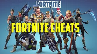 FORTNITE CHEAT ADMIN CMDS + INVINCIBILITY AND MORE!