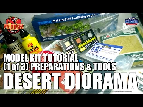 (1 of 3) Making Diorama Base - Preparation & Tools
