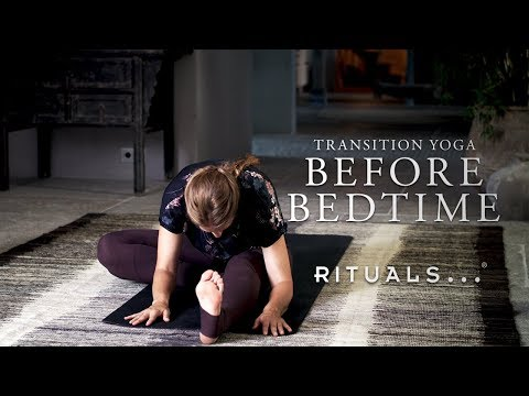 Evening yoga for better sleep (30-minute yoga practice) | Rituals