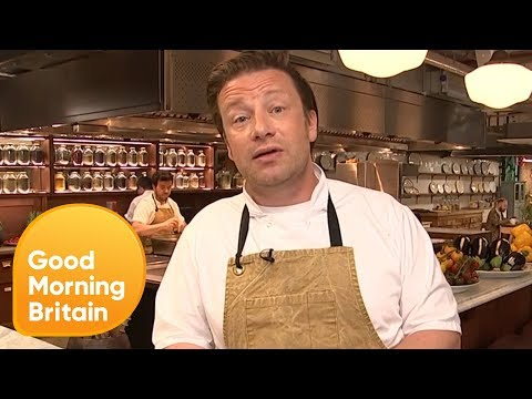 Jamie Oliver Hits Back at His Critics Over Cartoon Junk Food Ads  Good Morning Britain