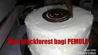Download Video Cara menghias kue blackforest bagi pemula MP3 3GP MP4