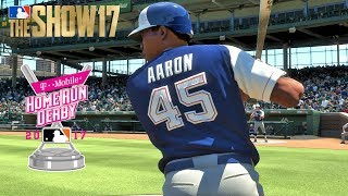 Hank Aaron vs Babe Ruth | Home Run Derby | MLB The Show 17