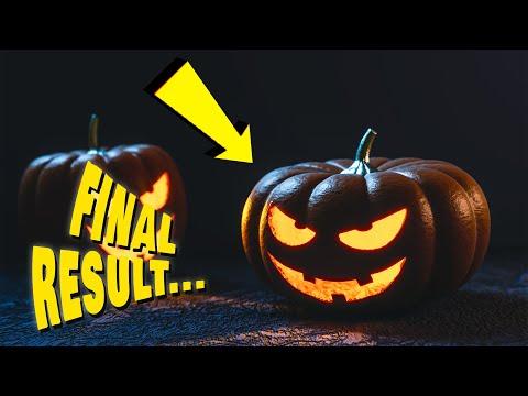 Halloween 2020 - How to DIY Halloween pumpkin from Paper Mache (FUN to make Halloween Decorations)