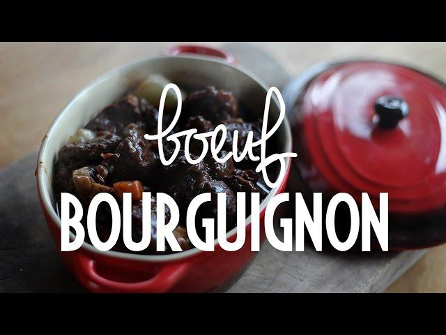 Boeuf Bourguignon | Rendez-vous à Paris