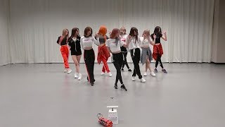 fromis_9 (프로미스나인) - LOVE BOMB Dance Practice (Mirrored)