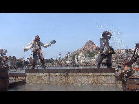 ºoº[スニーク]ミッキー広場 ディズニーシー パイレーツ・サマーバトル ゲット・ウェット! TDS Pirates of the Caribbean Summer Battle get wet