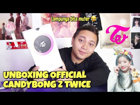 TWICE OFFICIAL LIGHTSTICK VER 2 CANDYBONG Z UNBOXING [Bahasa Indonesia]