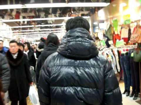 Seoul, Korea Yeongdeungpo underground market