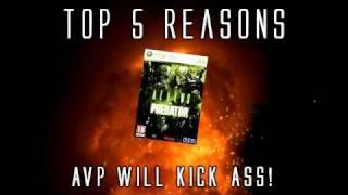 Top 5 Reasons Aliens Vs Predator Kicks Ass!