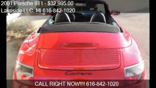 2001 Porsche 911 Carrera 2dr Cabriolet for sale in Spring La