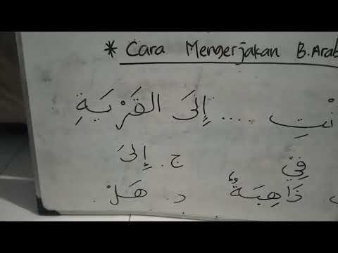 cara-mengerjakan-soal-bahasa-arab