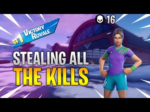 I STOLE ALL OF THEIR KILLS | 16 KILL DUO ARENA MODE