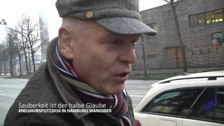 #Neujahrsputz2016 in Hamburg Wandsbek der AMJ MKAD