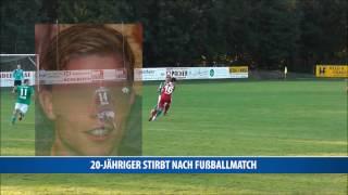 20-jähriger stirbt nach Fußball-Match