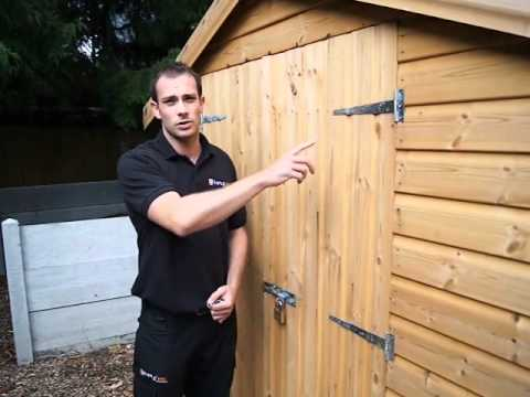 Keytek Security Tips Shed Out House Security Youtube