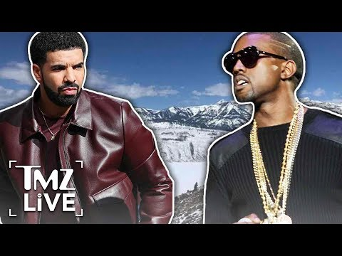 Drake & Kanye: The Secret Rendezvous | TMZ Live