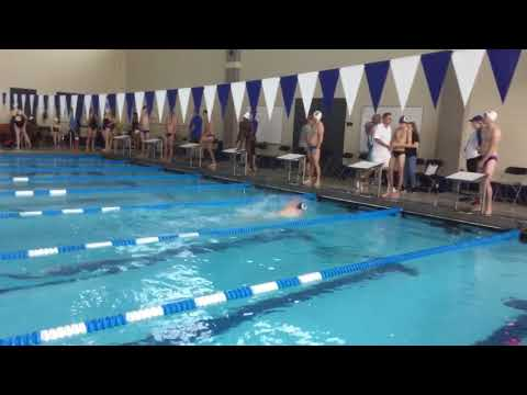 Garrett B - 100 Free - Illinois Quad Meet 2017