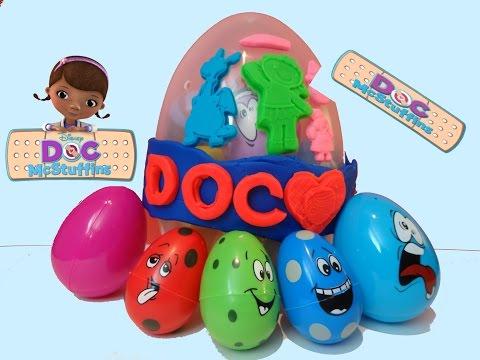 doc-mcstuffins-giant-play-doh-disney-jumbo-surprise-eggs-surprise-docteure-la-peluche