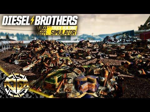 FIELD OF SCRAP : The Bearded Seven Repair : Diesel Brothers Truck Building Simulator |