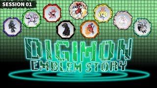 Nat19: Digimon Emblem St๐ry | Emblem | Session 1 (D&d 5th Edition)