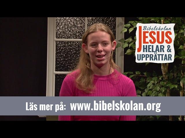 Elins vittnesbörd från Arkens bibelskola Jesus Helar och Upprättar