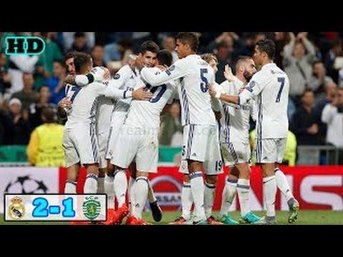 Download Real Madrid vs Sporting CP 2-1 Extendido Destaques e Partida Completa | HD