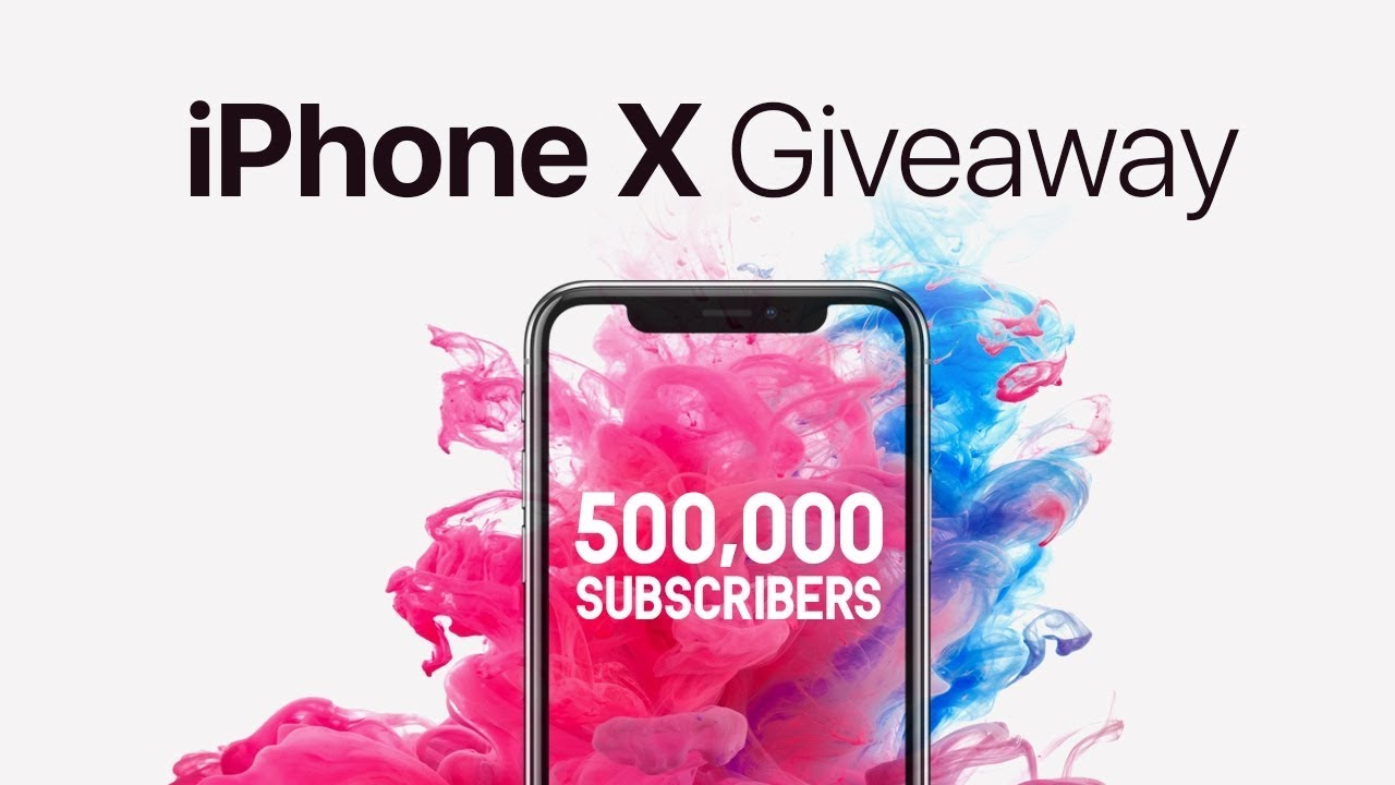 Iphone 10 giveaway