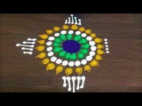 Independence Day Special Rangoli Republic Day Special Rangoli