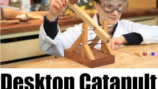How To Make A Desktop Catapult