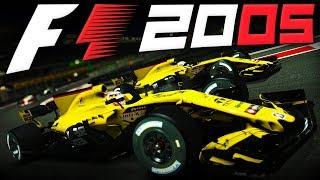 V10's! | F1 2005 MOD | Narain Karthikeyan at Abu Dhabi | F1 2017 Game