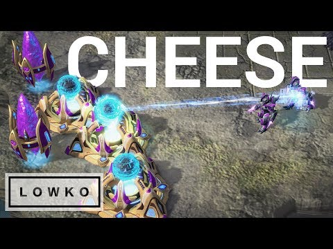 StarCraft: THE SHIELD BATTERY CHEESE!