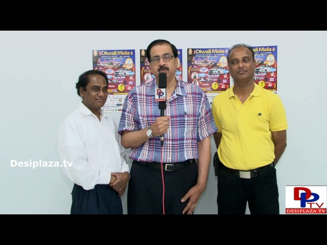 Chat Ganesh inviting every one to attend the upcoming Diwalimela event