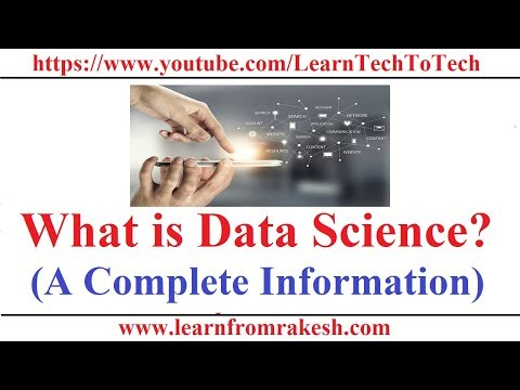 What is Data Science (A Complete Information)