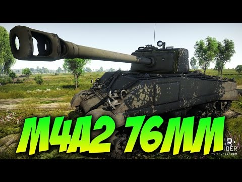War Thunder - The M4A2 76MM - Epic Teamwork! W/DevilDOG! & BARON!!!