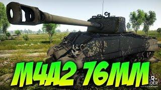 War Thunder - The M4A2 76MM - Epic Teamwork! W/DevilDOG! & BARON!!!